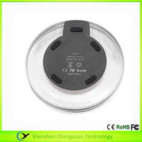 2015 new products wireless charger for Apple samsung Qi wireless charger for office desk