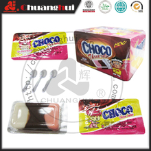 Milk & Chocolate & Vanilla Flavors 3 in 1 Chocolate Cup / 5g Three-colors Choco Cup