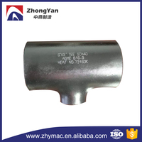 Stainless Steel Tee Pipe Fittings, Stainless Steel Reducing Tee