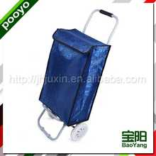 folding shopping trolley bag for promotion and shopper