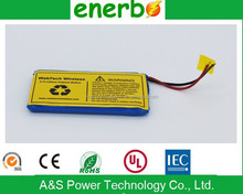 OEM/ODM available video cameras battery 624068 lipo battery 3.7v,2000mAh rechargeable lipo battery