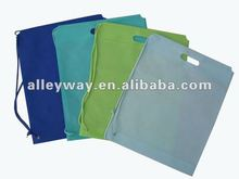 pp non-woven drawstring bag promotional bag shopping bag