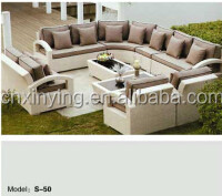 Popular rattan sofa set modern sofa sets S-50-01