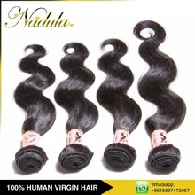 2015 Top Selling Products Body Wave Virgin Grey Human Hair