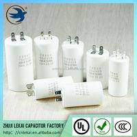 Single-phase AC motor capacitor 450v 8uf for washing machine