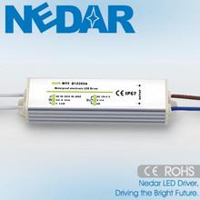 2015 Hotsale LED Switching Power Supply 5W DC 12V 24V 5V 36V for Outdoor Lighting IP67
