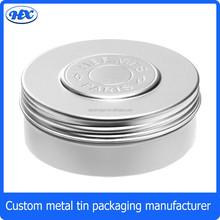 Wholesale empty tin cans aluminium tin cans metal round aluminium can