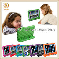 Fall Resistant Protective foam handle case cover stand for iPad mini