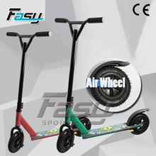 Fasy eye catching dirt scooter wheel, scooter toy