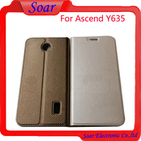 Mobile phone accessories cell phone case cover For Huawei Ascend Y635 pu leather flip cover