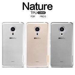 Original NILLKIN Thin Nature TPU Case for Meizu Pro 5 Mobile Phone
