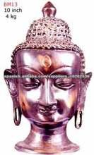 Estatua de Buda de bronce antiguo