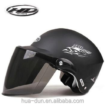 Huadun mat black new ABS summer motorcycle helmet, HD -329