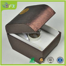 New style luxury paper jewelry box/popular gift paper box packaging made in china