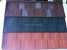 Durable newest blue metal asphalt shingle roof tiles