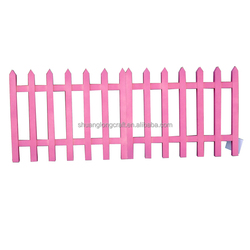China factory supply low price decorative wooden garden fencing