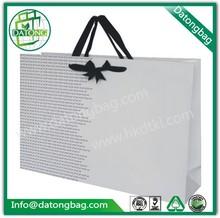 gran blanco vestido de lujo paquete personalizado hecho bolsa de papel