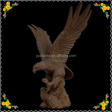 Polishing factory sale stone eagle statue from picture