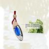 Custom wooden cap empty car perfume freshener bottle