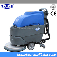 Industry use electric floor scrubber,automatic walk behind floor cleaning machine