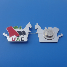 Silver plated gift items Metal iron Material and Art & Collectible Use advertising gifts for UAE 44th national day