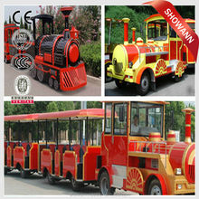 Model tourist train electric trackless shopping mall trackless train