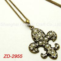 ZD-2955 New coming long lasting hidden camera necklace wholesale