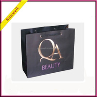 luxury paper gift bag for cosmetics industrial package