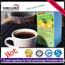 10 Times Rock Sugar Snow Pear Juice Concentrate Fruit Syrup For Bubble Tea