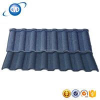 Wave Roman Type Stone Coated Metal Roof Tile