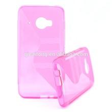Caliente! S forma de la línea cubierta del TPU del Gel para HTC ME9 alibaba venta al por mayor