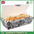 china proveedor de papel caja de papas fritas