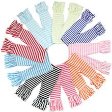 Atacado crianças meninas calças plissado triplo faixa de design bolinhas imprimir planície por atacado crianças irritar calças