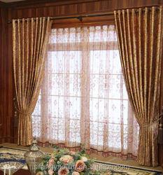 Modern Blackout home curtain,curtain fabrics turkey