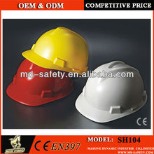 Different types of safety helmet with different Suspension