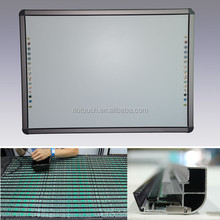 China portable interactive whiteboard for smart school and classroom, smart white board skd for education