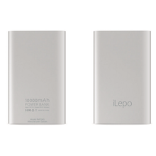 iLepo brand portable power bank, 10000mah large capacity portable charger, 2500pcs stock ready portable mobile charger