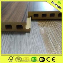 Indoor WPC Floor Wood Plastic Composite (WPC Base+Top PVC Plank)