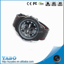 hot selling!!! 720*480 8Gb hidden camera watch high tech wrist watch camera