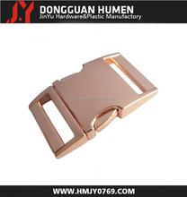 Jinyu metal paracord bracelet buckle/metal bracelet clasp buckle/metal release buckle