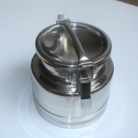 Stainless Steel Milk Storage Pot with Lockable Lid