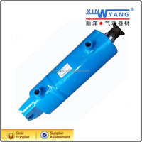 dump truck telescopic hydraulic cylinder with pison rod