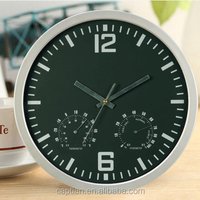 plastic wall clock azan time with compass and altimeter thermometer