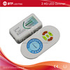 2.4G led dimmer controller DC12-24V + wireless intuitive touch remote control