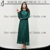 MD10016 2015 New arrive islamic women clothing abaya kaftan long sleeve lace maxi dress blouse arabic abaya burqa gamis muslim