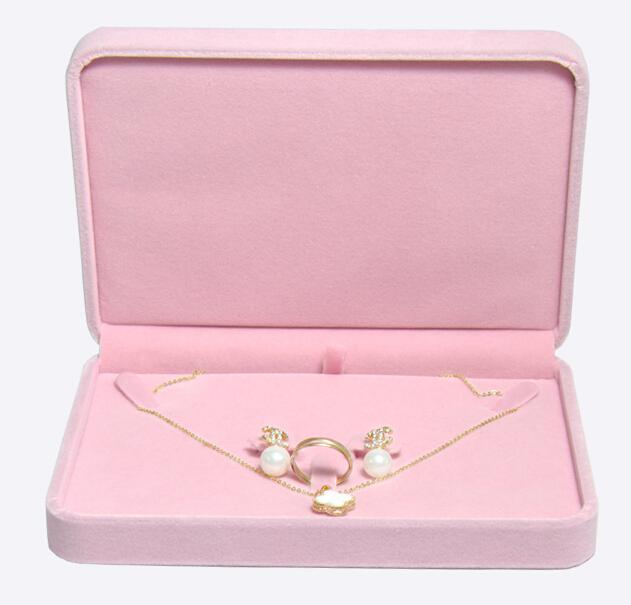 por atacado caixa de brincos de pingente anel de veludo de jóias de alta qualidade