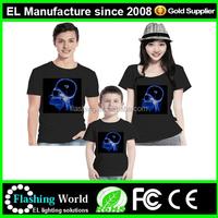 2015 Hot selling light up china led t-shirt