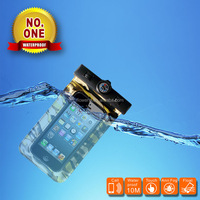 FL456 Funny mobile phone PVC waterproof case