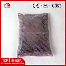 Powder coating waterproof plugging material