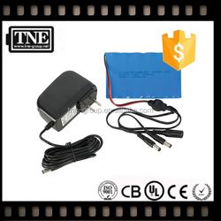 HOT JAPAN OEM factory 12v/11.1v lithium Defibrillator 12V 2800mah Li-ion battery for medical battery with connector